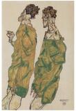 Egon Schiele (Prayer) Art Poster Print Poster