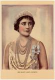Her Majesty Queen Elizabeth (Queen Mum) Art Print Poster Prints