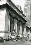 New York City Public Library 1950 Archival Photo Poster Print Prints