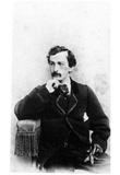 John Wilkes Booth (Portrait) Art Poster Print Prints