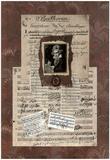 Linda Jade Charles Beethoven Art Print Poster Poster