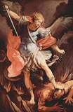 Guido Reni (Archangel Michael) Art Poster Print Masterprint