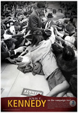John F Kennedy On the Campaign Trail Archival Photo Poster Print Poster