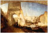 Joseph Mallord Turner The Roman Forum for Mr Soane Museum Art Print Poster Print