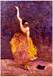 Henri de Toulouse-Lautrec The Dancing Girl Art Print Poster Prints