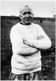 Knute Rockne Arms Crossed Archival Sports Photo Poster Posters