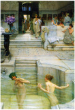 Lawrence Alma-Tadema A Favorite Tradition Art Print Poster Photo