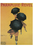 Leonetto Cappiello Parapluie Revel Vintage Art Poster Print Prints