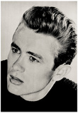 James Dean Face Archival Photo Movie Poster Print Posters