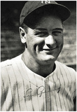 Lou Gehrig Autograph Archival Photo Sports Poster Print Prints