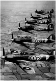 Hurricane IT Fighter Jets 1941 Archival Photo Poster Prints