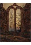 Caspar David Friedrich (The dreamer) Art Poster Print Prints