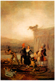 Goya Comicos Ambulantes Art Print Poster Posters