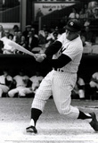 Mickey Mantle Swinging Bat Archival Photo Sports Poster Print Masterprint