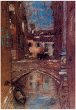 James Whistler San Rocco Art Print Poster Posters