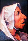 Pieter Bruegel Old Farmer Art Print Poster Poster