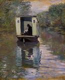 Claude Monet (The Boat Studio) Art Poster Print Masterprint
