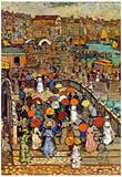 Maurice Brazil Prendergast Venice Art Print Poster Posters