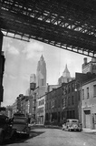 Brooklyn Bridge 1936 Archival Photo Poster Print Masterprint