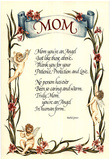 Mom You're An Angel POSTER biggest Mothers Day Card! Prints