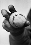 Baseball Knuckleball Grip Archival Photo Sports Poster Print Print