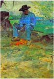 Henri de Toulouse-Lautrec The Young Routy in Celeyran Art Print Poster Poster