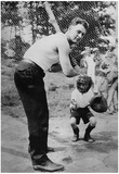 Lou Gehrig Sandlot Archival Photo Sports Poster Print Photo