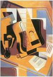 Juan Gris Guitar Cubism Art Print Poster Posters