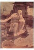 Leonardo da Vinci (The St. Jerome) Art Poster Print Print