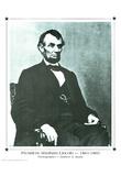 Mathew B. Brady President Abraham Lincoln Art Print Poster Posters