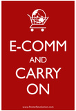 Ecom and Carry On Humor Print  Poster Posters