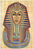 Egyptian King Tut Art Print POSTER Pharaoh Ancient Poster
