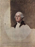 Gilbert Stuart (Portrait of George Washington) Art Poster Print Masterprint