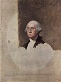 Gilbert Stuart (Portrait of George Washington) Art Poster Print Masterprint