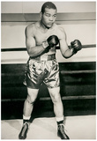 Joe Louis Boxing Pose Archival Photo Sports Poster Print Posters