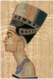 Egyptian Queen Art Print POSTER Pharaoh Ancient Posters