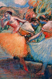 Edgar Germain Hilaire Degas (Three Dancers) Art Poster Print Masterprint