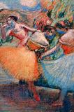 Edgar Germain Hilaire Degas (Three Dancers) Art Poster Print Masterprint