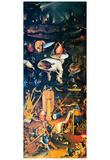Hieronymus Bosch The Garden of Earthly Delights Hell Art Print Poster Plakaty
