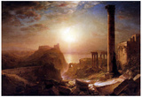 Frederick Edwin Church Syria on the Sea Art Print Poster Posters