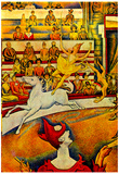 Georges Seurat Circus Art Print Poster Posters