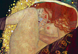 Gustav Klimt (Danae) Art Poster Print Masterprint