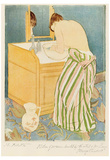Mary Cassatt - The Toilet,  Art Print Poster Prints