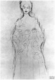 Gustav Klimt Lesendes Girls II Art Print Poster Photo