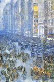 Childe Hassam Fifth Avenue Art Print Poster Masterprint