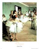 Dance Class Edgar Degas Art Print Poster Masterprint
