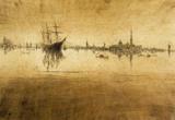 James Whistler Nocturne 2 Art Print Poster Masterprint