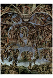 MICHELANGELO Last Judgement ART POSTER Fresco PRINT Posters