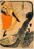 Henri de Toulouse-Lautrec Jane Avril Art Print Poster Print