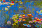 Claude Monet Waterlillies Art Print Poster Masterprint
